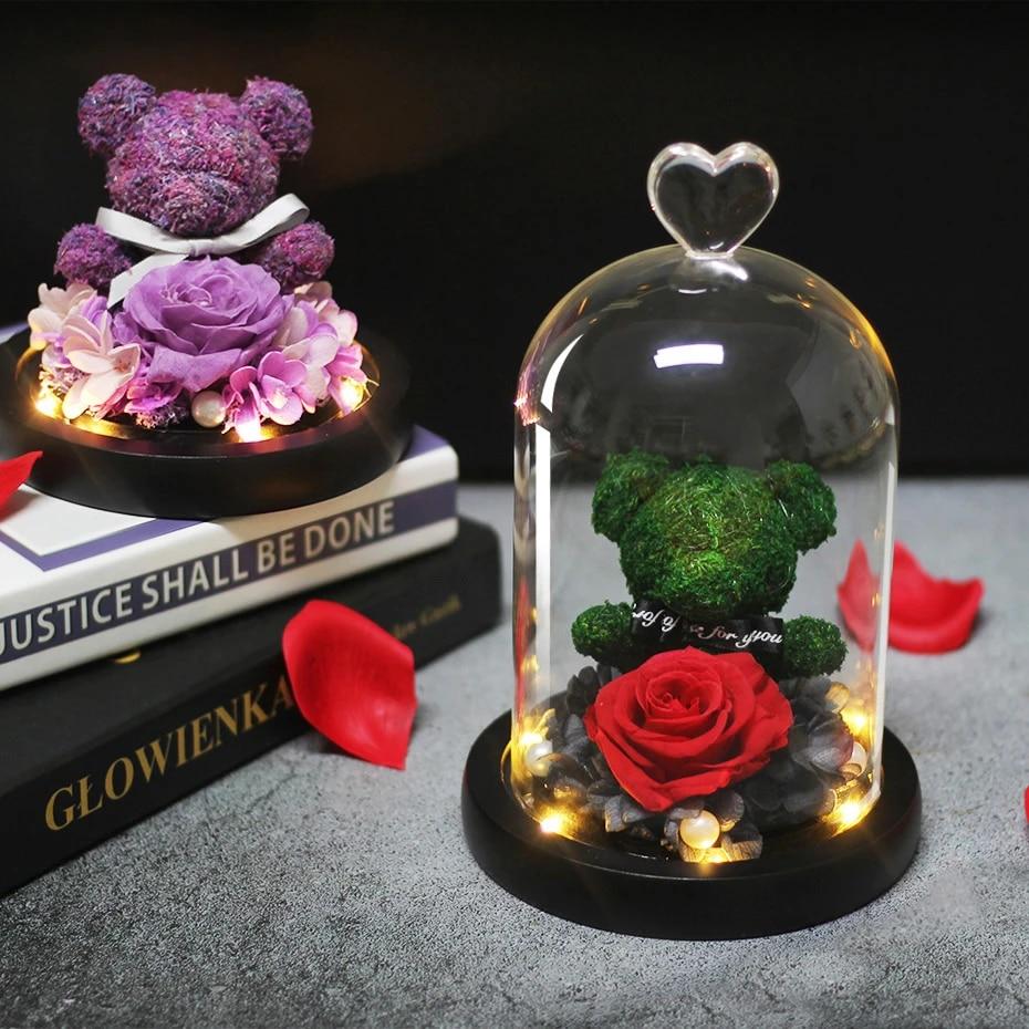 Love Bear clay figure love token valentine Mother\u2019s Day gift birthday gift