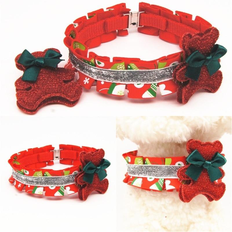 Origional New Style With Headband Christmas Series Pet Collar Dog Jing Hua