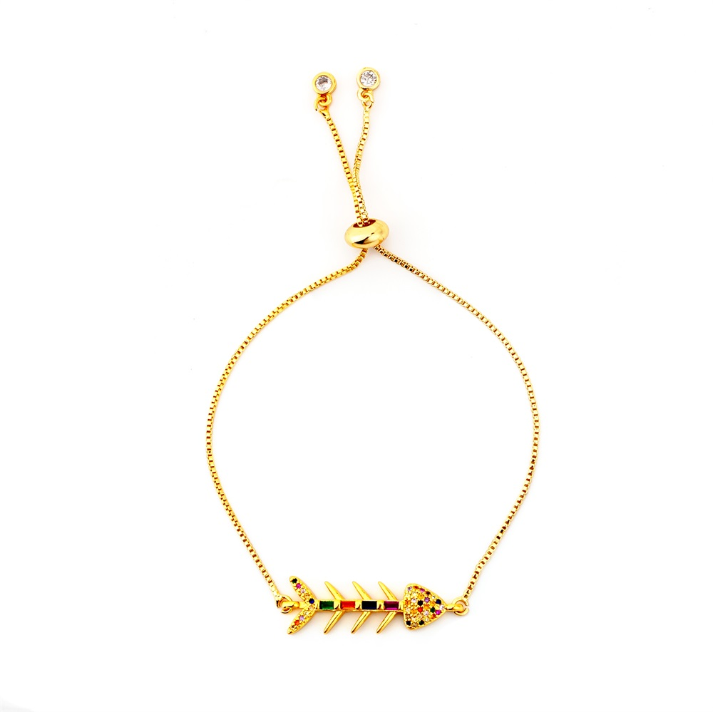 Горячее золото циркония браслет и браслет женский Радужное покрытие браслет Роскошный Регулируемый сердце злой глаз змея цепь браслет