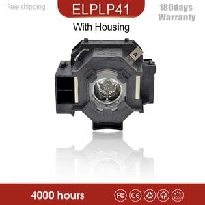 Image 1 - UHE170 מקרן הנורה מנורה עם דיור ELPLP41 V13H010L41 עבור EMP 260 EMP 77 EMP 77C EMP S6 + EMP S6 EMP S5 + EMP S52 S5