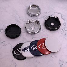 4 pçs 56mm ou 60mm logotipo do carro emblema roda centro hub tampa aro reequipamento criativo emblema cobre decoração adesivo ft acessórios