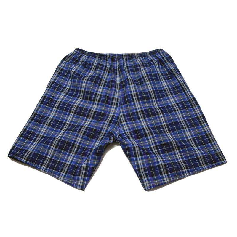 Cheap Cotton Summer Mens Sleep Bottoms Pajamas Shorts Sleepwear Pants Pajamas Male Men At-home Sleep Shorts Men Sleeping Shorts