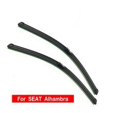 Windshield Wiper Blade For SEAT Alhambra 2001 2018 Car Accessories front window wiper blades