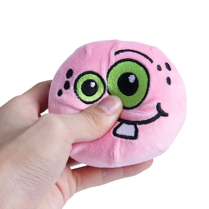 Funny Halloween Plush Toys Embroidery  Kids Squeezable Slow Rising Dolls