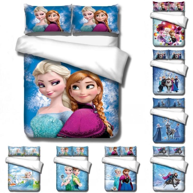 disney dos desenhos animados congelados princesa conjuntos de cama bonito do bebe criancas meninas presentes capa