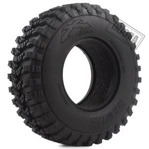"""Image 2 - 4 pièces 1.9 """"caoutchouc Voodoo KLR pneus de roue 105*35mm pour 1:10 RC chenille axiale SCX10 D90 TF2 MST Tamiya"""
