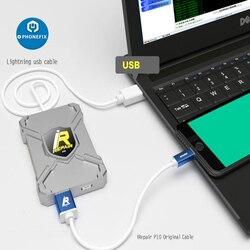 Programmeur de Non-retrait de puce de nfu de Mini DFU de la boîte IBox P10 DFU pour le Mode de levage forcé de micrologiciel d'iphone HDD lisant l'écriture