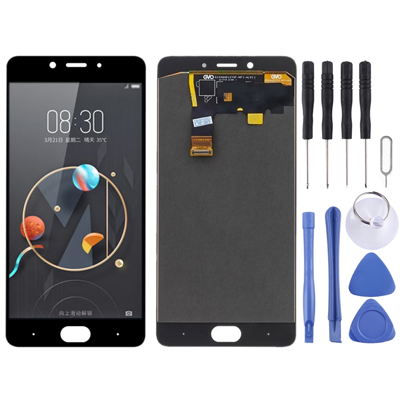 LCD Screen and Digitizer Full Assembly for ZTE Nubia N2 nx575j (Black)(China)