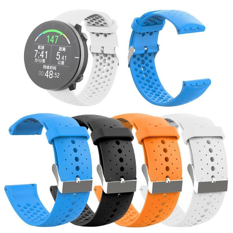 Silicone Watchband Wrist Strap For Vantage M Smart Watch Bracelet Belt Replacement For Polar Vantage M Smartwatch Accessories
