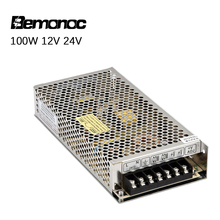 Bemonoc 100W Switching Power Supply Transformer AC 220V To DC 12V 24V Power Supply Source Adapter For DC Motor Power Adapter switching power supply 250w 12v 24v cctv power supply 250w smps 220acvolts dc power supply 12v 20a 24v 10aswitching power supply