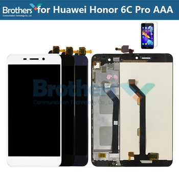 For Huawei Honor 6C Pro LCD Screen JMM-L22 AL10 AL00 Touch Screen Digitizer LCD Assembly with Frame for Honor 6CPro LCD Display 1