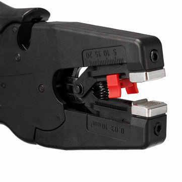 Автоматическое электрическое приспособление для снятия изоляции с проводов зачистки плоскогубцы терминальный обжим ручной инструмент кабельный резак черный щипцы