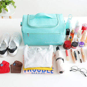 Image 4 - יבש ורטוב הפרדת נסיעות תיק בסוף השבוע לילה מזוודה פאוץ נשים של עמיד למים אריזה קוביות בגד אביזרי מטען