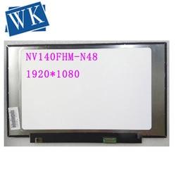 "Dla Boe IPS ekran LCD NV140FHM N48 matryca do laptopa 14.0 ""FHD 1920X1080 30Pin NV140FHM N48 wymiana panelu w Ekrany LCD do laptopów od Komputer i biuro na"