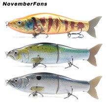 NovemberFans 16.5cm Glide Shad Swimbait Wobblers Big Game Lures Fishing Slide Baits Sinking Floating Fishing Tackle Lure