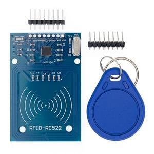 Image 4 - 50 pces tenstar robô rfid módulo rc522 kits s50 13.56 mhz 6cm com tags spi escrever & ler