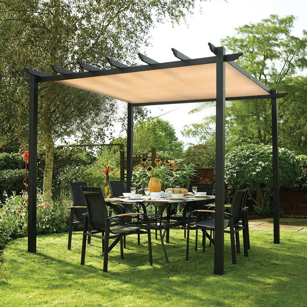 uv block shade blinds sunshine resistant rectangle shade privacy screen for outdoor patio garden pergola garden shade curtain