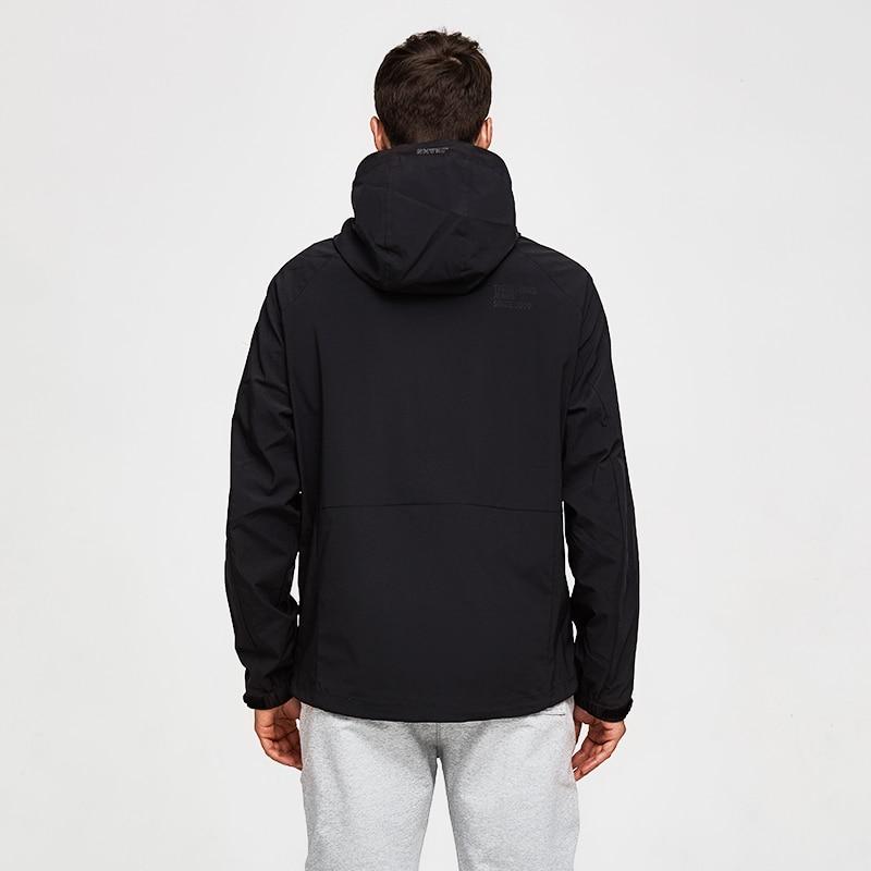 Tiger Force 2019 Men's Casual Spring Jacket Male Hooded Windbreaker Windproof Plus Size Coats Male Outerwear Overcoat