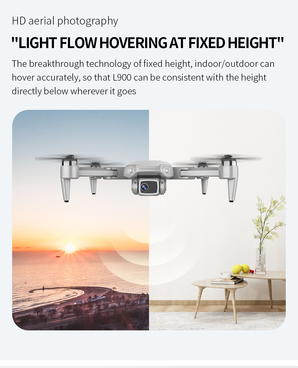 Hd48a72ae5337460691fd245fbcc35078W - L900 Pro Drones 4K HD Dual Camera GPS 5G WIFI FPV Quadcopter Brushless Motor Rc Distance 1.2km Transmission Helicopter Toys