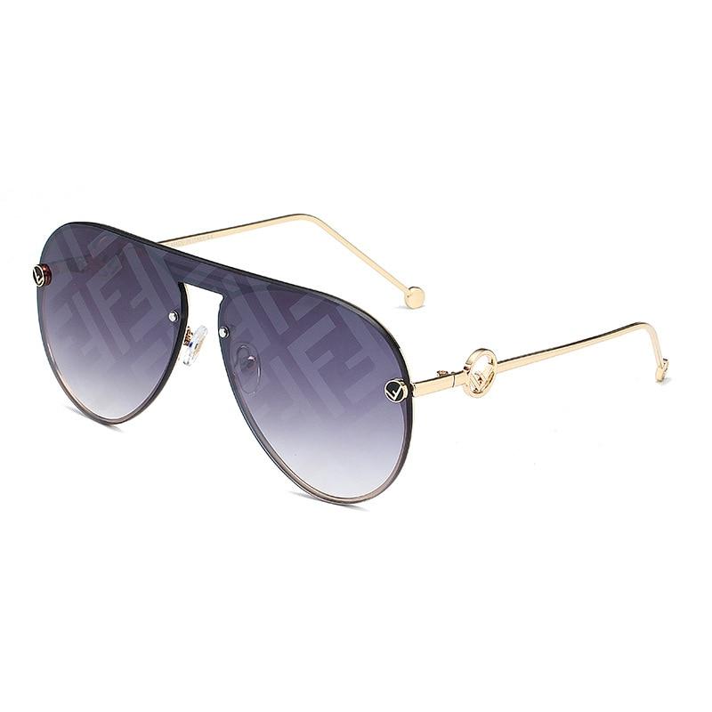 Brand Design 2020 Fashion Letter Sunglasses Women Vintage Rimless Square Shades Ladies Sun Glasses UV400 Oculos De Sol Feminino|Women's Sunglasses|Apparel Accessories - AliExpress