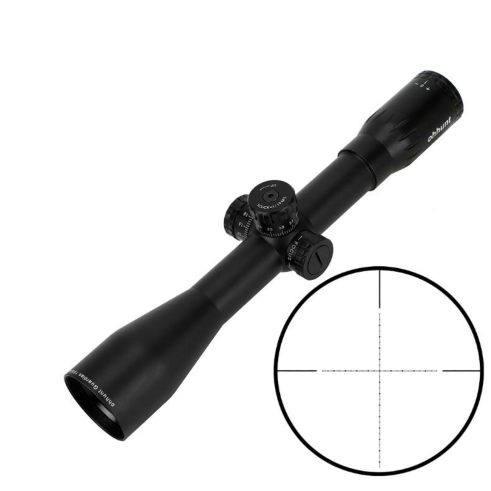 Guardian 10X44 SF Hunting Riflescopes Side Parallax Tactical Reticle Turrets Lock Reset Fixed Magnification 10X Scope