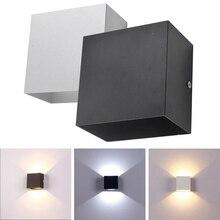 Cube COB 10W LED Indoor Lighting Wall Lamp Modern Home