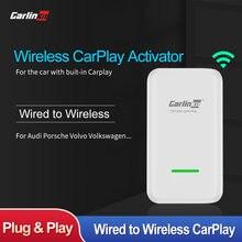 Carlinkit carplay беспроводной адаптер для benz audi porsche