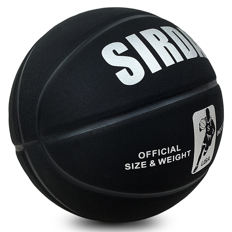 Soft Microfiber Basketball Size 7 Wear-Resistant Anti-Slip,Anti-Friction Outdoor & Indoor Professional Basketball Ball