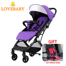 Baby Stroller 3 In 1 Travel System with Car Seat High View Pram