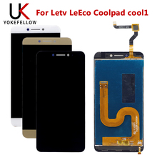 """5.5 """"ل Leeco كول 1 عرض ل Letv LeEco Coolpad cool1 كول 1 C106 C106 9 c106 7 شاشة LCD عرض محول الأرقام الجمعية"""