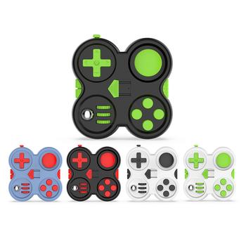 Figit Toys Fidget Pad Fidget Controller lęk i stres Relief czas zabijania dla dzieci i dorośli PRT3 tanie i dobre opinie NONE CN (pochodzenie) 25-36m 4-6y 7-12y 12 + y Other