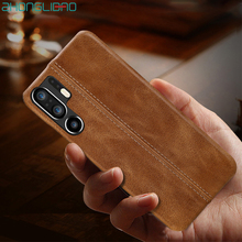 Splice Case for Huawei P30 P20 Mate 20 10 9 20X Pro Lite P10plus MateRS 20X5G Luxury Suture Stitching Genuine Leather Back Cover