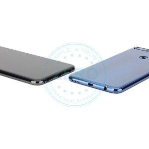 Image 4 - Huawei社Y7 プライム 2018 リアハウジングhuawei社ノヴァ 2 liteのバッテリードア交換スペア部品