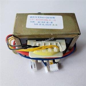 Image 4 - 24V 30V 10V Transformer 220V EI66 30VA Transformer 26V 34V 10.6V Hot air gun desoldering station soldering element 898BD 852D+