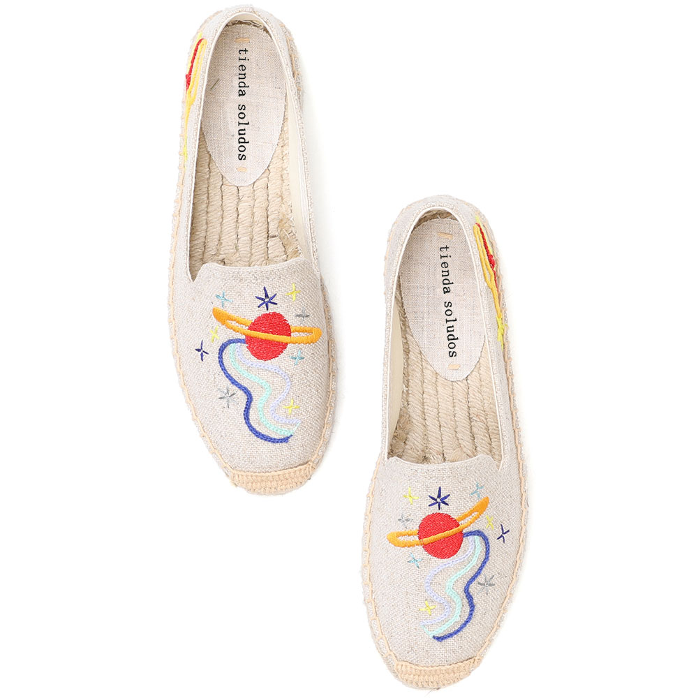 2020 Espadrilles Sapatos Flats 2019 Rushed Zapatillas Mujer Breathable Fashion Woman Hard-wearing Rubber Embroidered Harajuku
