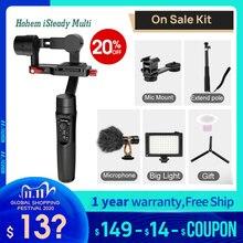 Hohem iSteady Multi Mikro einzigen Stabilisator 3 Achse Handheld Gimbal für Kamera Action Gopro 6 7 Smartphone PK Zhiyun kran M2 om4