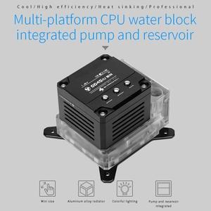 Block-Pump Intelligent-Pump Display Reservoir CPU OLED Barrowch FBLTPRK-04/LTPRK-04 Three-In-One