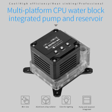 Block-Pump Reservoir CPU OLED Barrowch FBLTPRK-04/LTPRK-04 PWM Three-In-One Intelligent-Pump