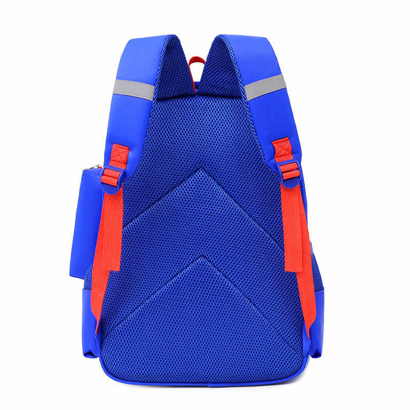 Backpack Schoolbag Children School Bags for Boys Girls Big Capacity Waterproof Satchel Kids Book Bag Mochila