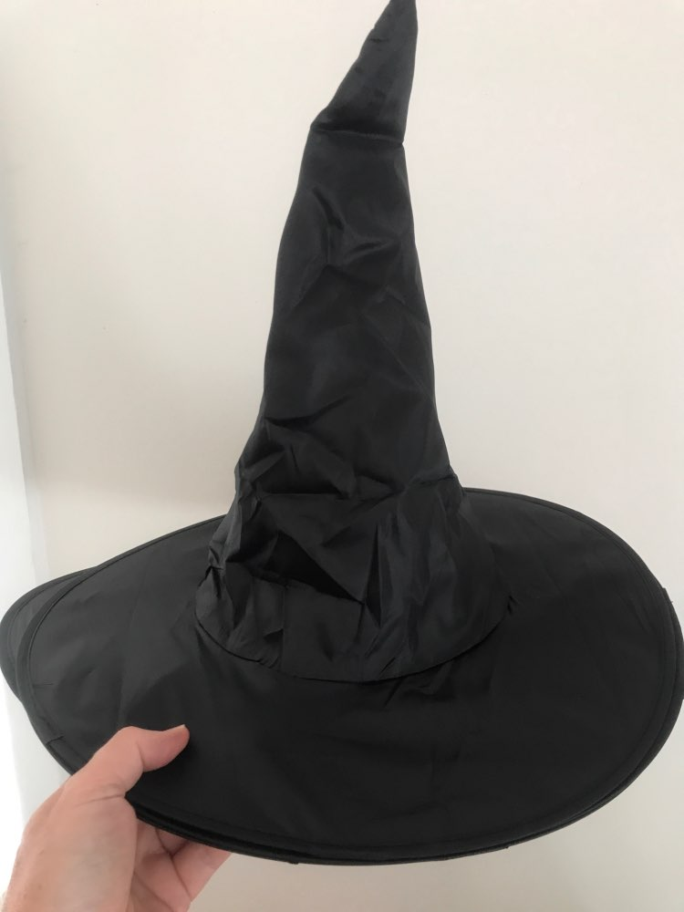 Halloween Witch Hat Costume Props Adult Women Black Witch Hat For Halloween Costume Party Accessory Dropshipping