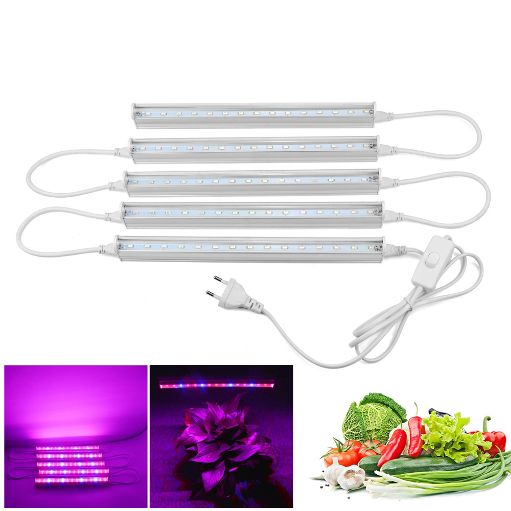 Fitolamp Led Bar Rigid Strip LED Grow Plant Growing Light T5 Tube For Aquarium Greenhouse Hydroponic Growbox Phyto Indoor Plants