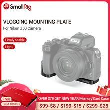 SmallRig Z50 placa de soporte para Nikon Z50 placa lateral en forma de L + placa de montaje de placa base con soporte de zapata fría 2525