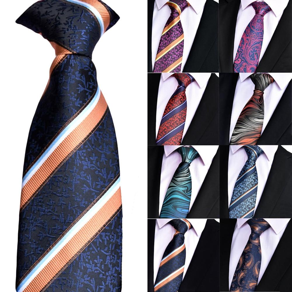 Business Meeting Wedding Suit Necktie Mens Casual Party Ties Tie