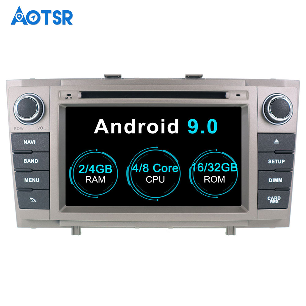 Aotsr <font><b>Android</b></font> 9.0 Car DVD Player For <font><b>Toyota</b></font> Avensis 2009-2015 <font><b>T27</b></font> Car GPS Navigation Stereo multimedia auto headunit 2 din radio image