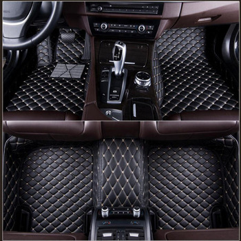 car floor mats for BMW e30 e34 e36 e39 e46 e60 e90 f10 f30 x1 x3 x4 x5 x6 1/2/3/4/5/6/7 car accessorie car styling auto mats image