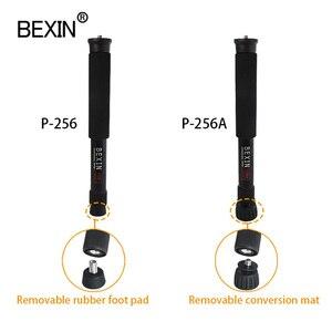 Image 2 - BEXIN mini portable lightweight camera monopod 122cm expansion length tripod support rod aluminum material for dslr SLR camera