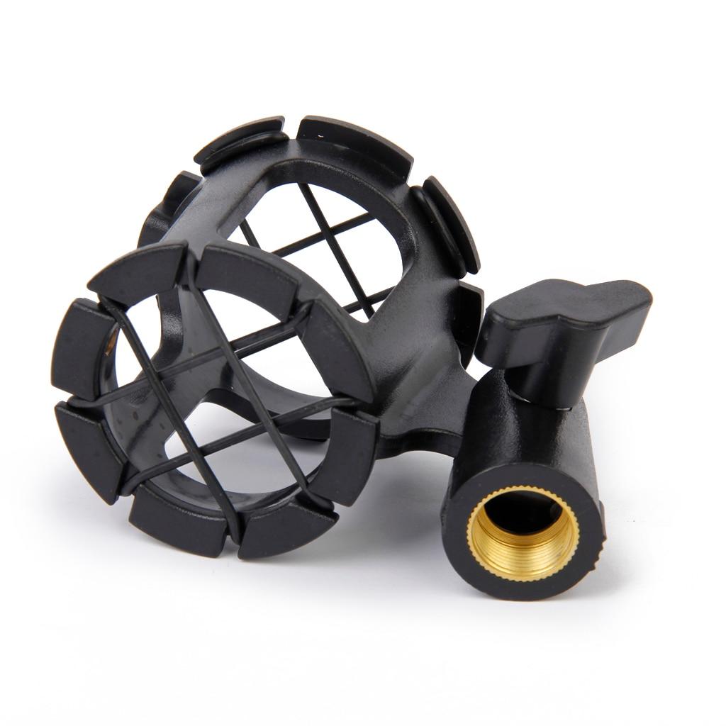 Universal Mic Microphone Shock Mount Clip Holder For Studio Sound Recording