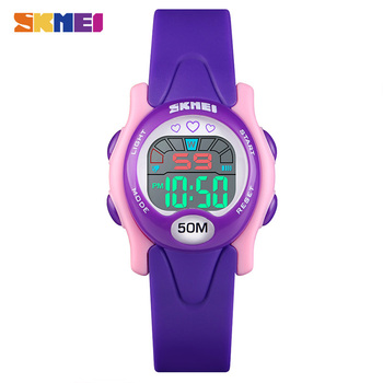 SKMEI Fashion Children LED Digital Watch Calendar Clock Kids Sport Watches 5Bar Waterproof Wristwatch For Boys Girls Reloj 1478