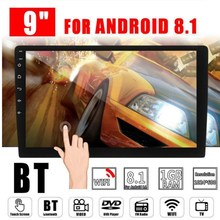 2 Din 9 Inch Android 8.1 Universele Auto Radio Dubbel Din Stereo Gps Navigatie In Dash Video Wifi Usb Bluetooth auto Radio Multime(China)