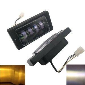 Image 2 - 2 stücke marke neue Led Nebel Licht nebel Vorbei Licht für lada 2110  2117 autos vorne nebel Lampe